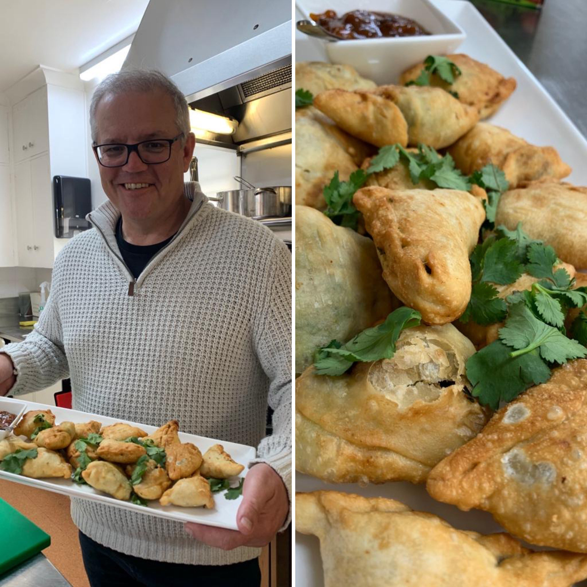 Samosa Diplomacy Comes To The Fore As Aussie PM Pays Tribute to the Fried Wonder